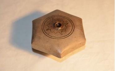 16 Hexagonal Yxing damper from Canton region circa 1880