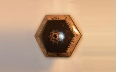 106 Hexagonal Yxing geometric damper 1900