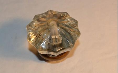 14 Glass damper made from a door knob circa 1920