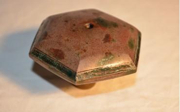 54 Rare pink Yxing damper from Peking region circa 1860