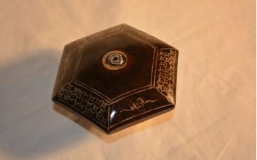 4 Beautiful hexagonal yxing damper with geometric design 1900