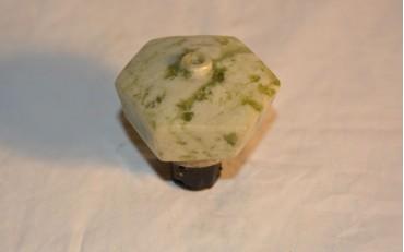 44 Rare apple jade damper from Burma circa 1870