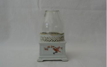 11 Rare porcelaine opium lamp Yunnan region circa 1880
