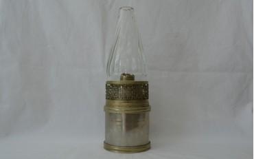 16 Travelling Paktong lamp Peking region circa 1900