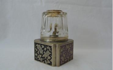 18 Yunnan Cloisonne and Paktong lamp circa 1900