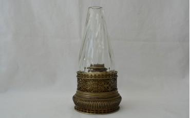 5 Chinese Paktung lamp Yunnan region Qing Dynasty