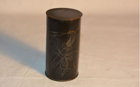 3 Opium box in niello from Yunnan region,Qing dynasty
