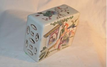 5 rectangle porcelaine opium pillow